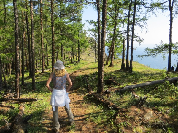 Hiking a section of the Great Baikal Trail