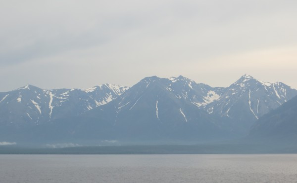 Inside Passage or Lake Baikal?