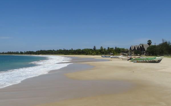 Passekudah beach