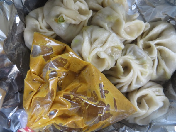 "Mutton dumplings from ""fast food"""