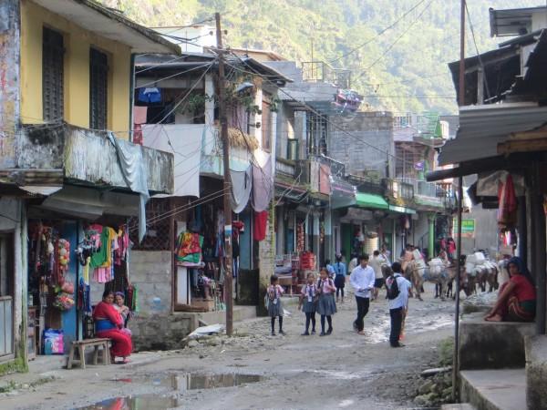 Nayapul Village