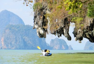 Kayaking Phang Nga Bay