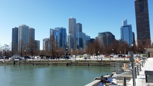 city from navy pier