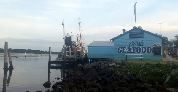 seafood shack port