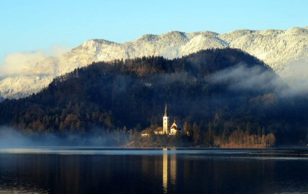 church-on-bled-island