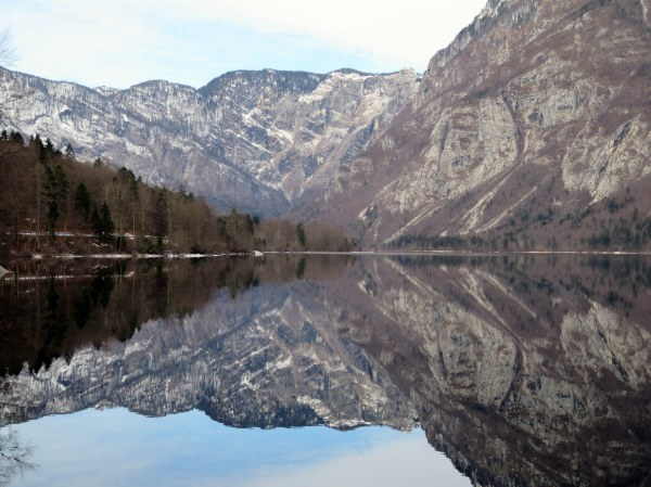 reflection-lake-bohinj