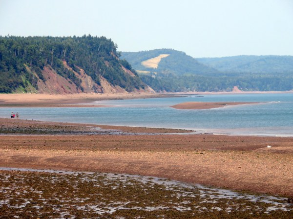 Camping on Bay of Fundy
