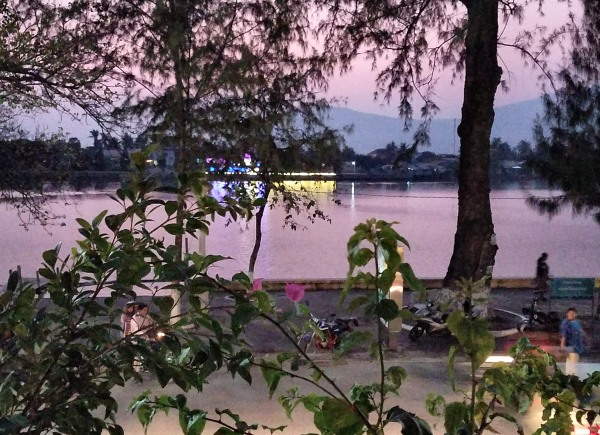 Kampot riverside views
