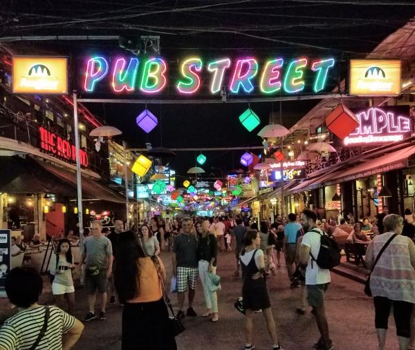 Pub Street Siem Reap